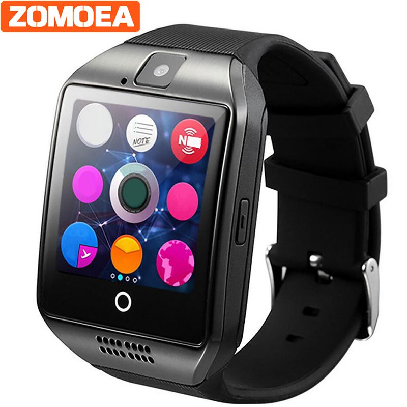 Zomoea Smart Watch For Android Phone With Sim Card Slot Push Message Bluetooth Connectivity Android Phone Music B Smart Watch Wearable Device Smart Watches Men