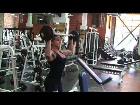 Shoulder Exercise - Overhead Barbell Press