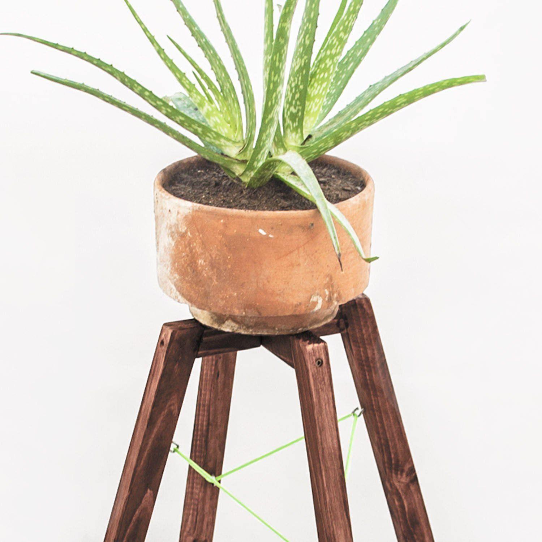 Vintage Plant Stand Rustic Wooden Planter Stand Indoor Planter Stand Home Plant Pot Legs Indoor Garden Decoration Accessories Interiores De Madera Macetas Para Interiores Macetas