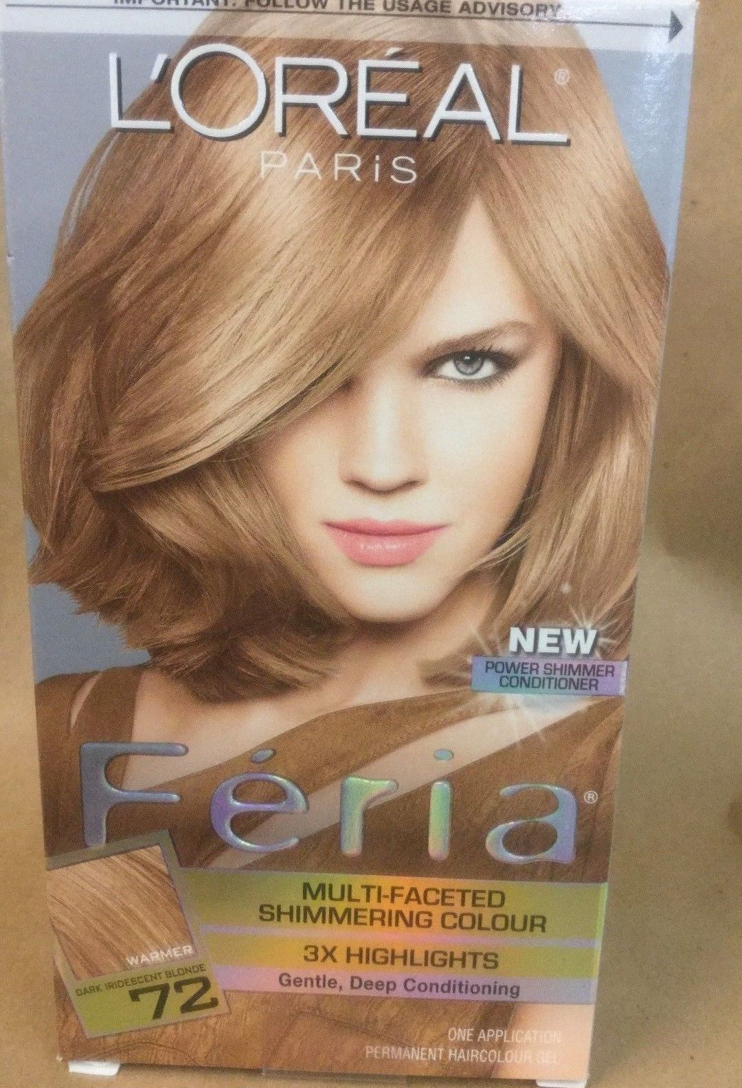 L Oreal Feria Multi Faceted Shimmering 3x Highlights Caramel Kiss