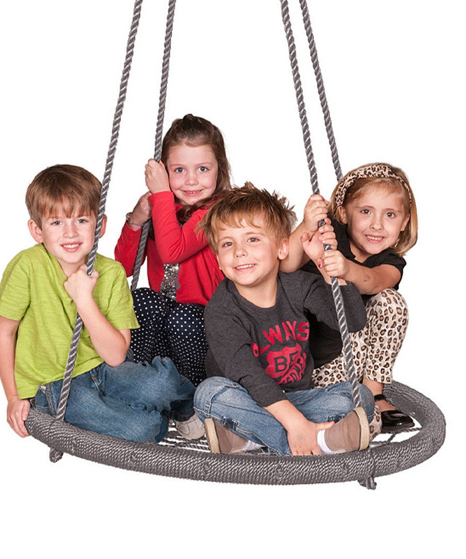 Another Great Find On Zulily Grey Web Riderz Web Swing