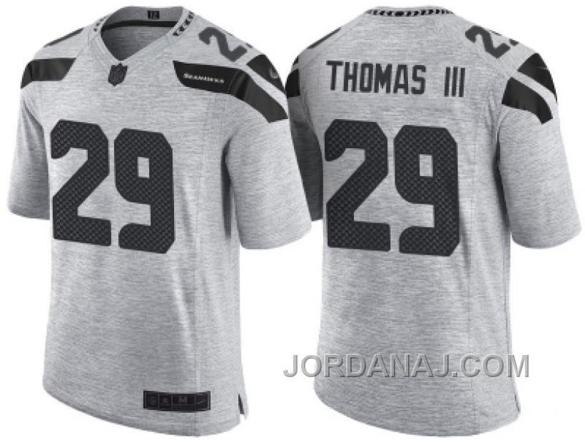 Nike Seattle Seahawks  29 Earl Thomas III 2016 Gridiron Gray II Men s NFL  Limited Jersey 7598eb75fe2