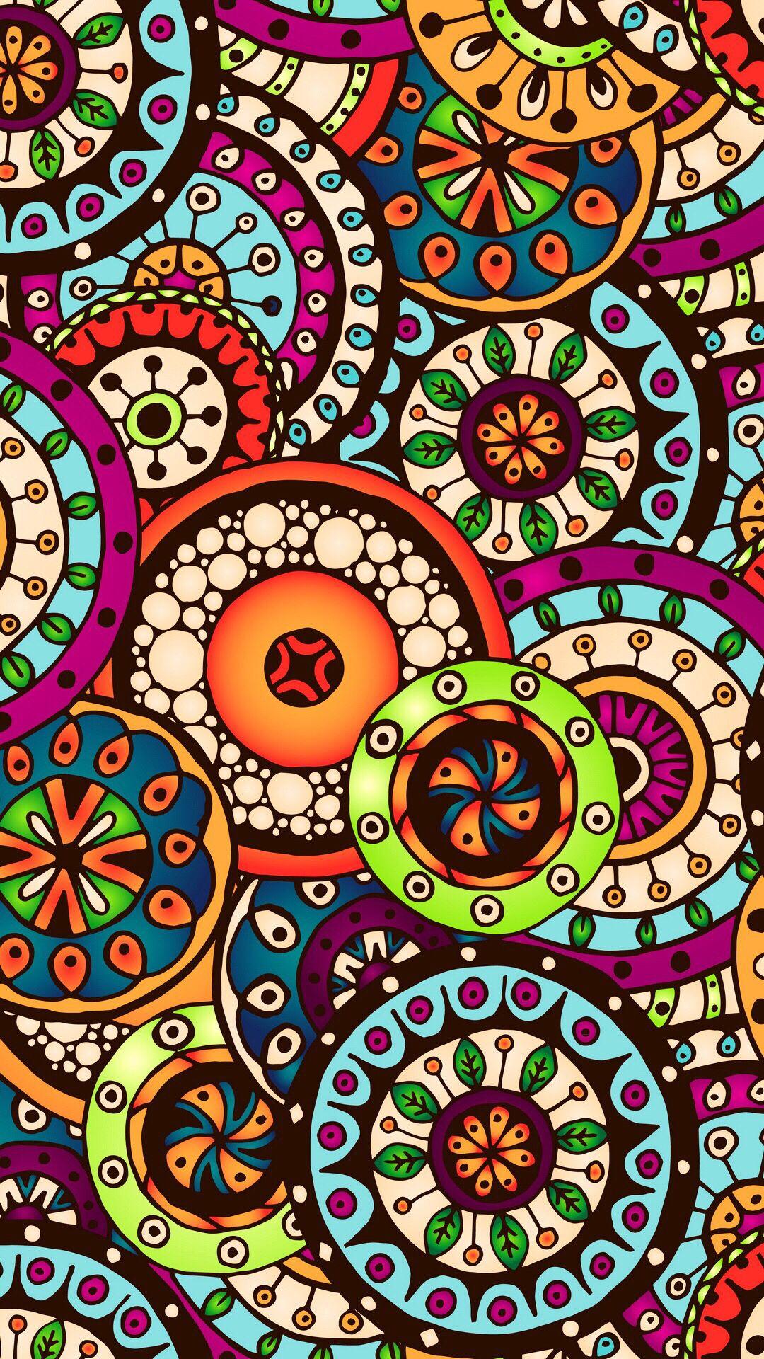 Otkrytka Iz Prilozheniya Kefir Https Kefirapp Com C 2958454 Pattern Art Graphic Wallpaper Mandala Wallpaper