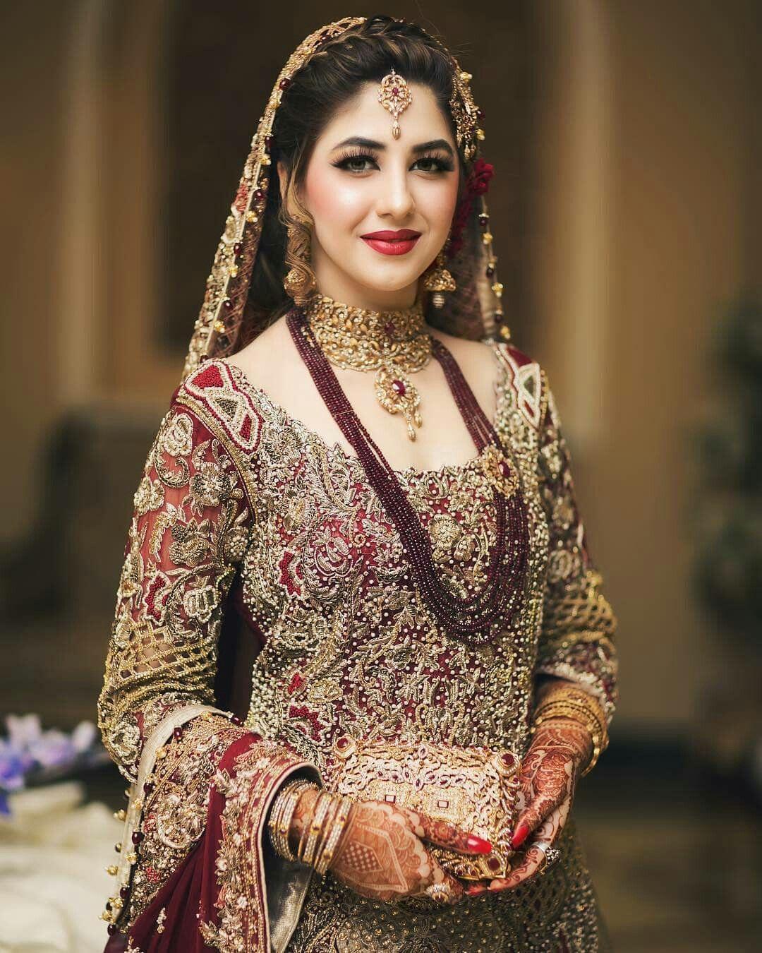 Beautiful Pakistani Bridal Dresses: Pin By Haniya Malik On Bridal Fashion (With Images