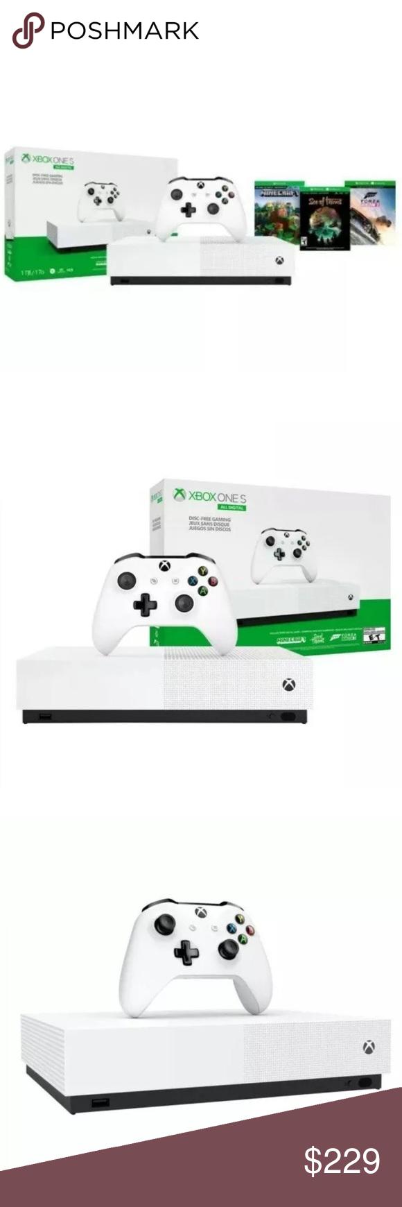 Microsoft Xbox One S 1 TB Forza Horizon 3 Bundle Microsoft