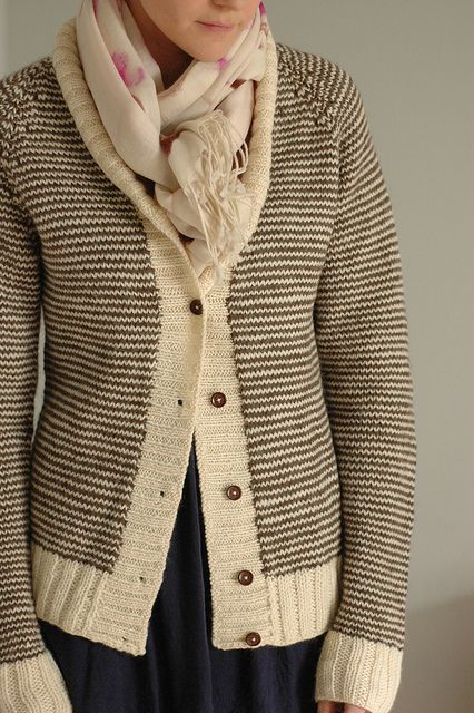 ensam striped cardigan   Knitting   Sweaters, Striped cardigan, Knitting