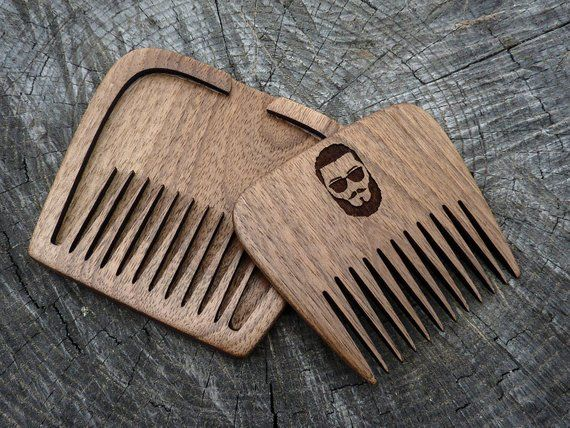 Beard Combcomb Woodhair Combwooden Combmustache Combmens Comb