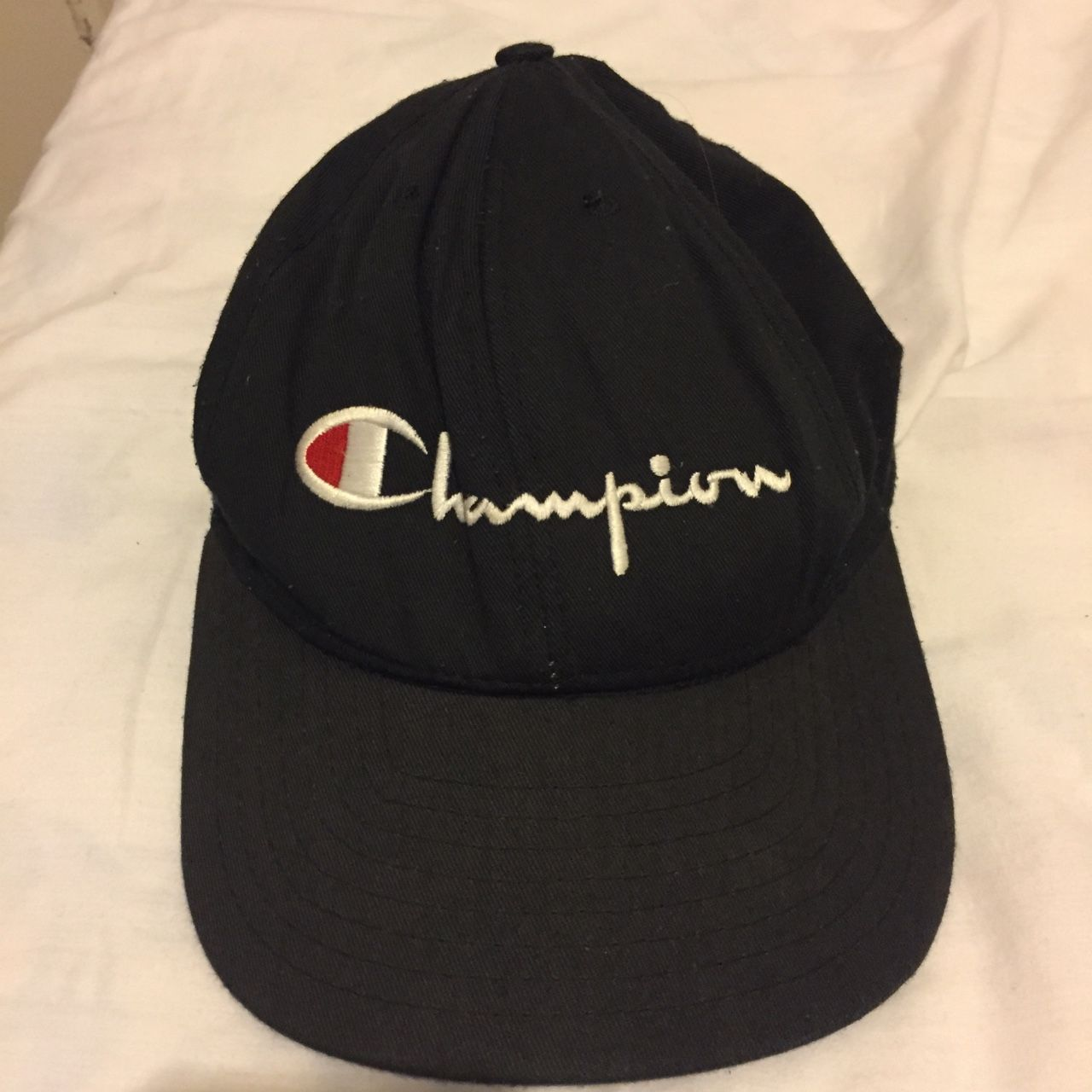 65f904b952b2f Vintage Champion hat with adjustable strap. 8 10 condition  champion