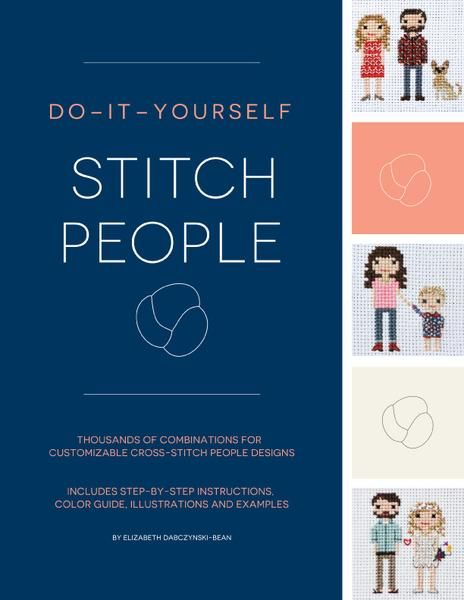 Do it yourself stitch people book stitch dmc floss and crafty the diy stitch people book includes hundreds of designs and patterns for adult and child hairstyles solutioingenieria Images