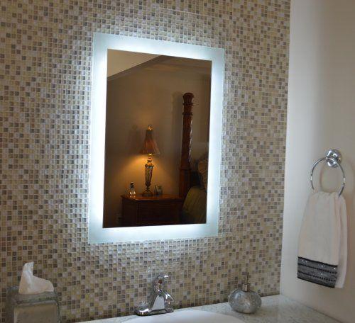 Wall Mounted Lighted Vanity Mirror MAM92436 24\