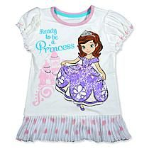 Disney Baby Sofia The First Toddler Girl's Top - Princess
