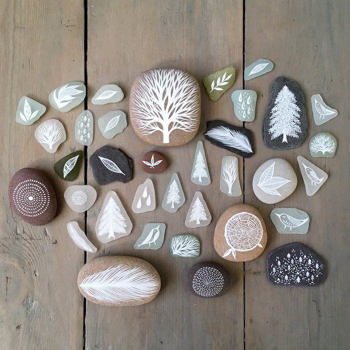 Taupe Farbe Dekorative Ideen Für Ihr Zuhause: 1001 + Kreative Und Leichte Ideen Zum Steine Bemalen