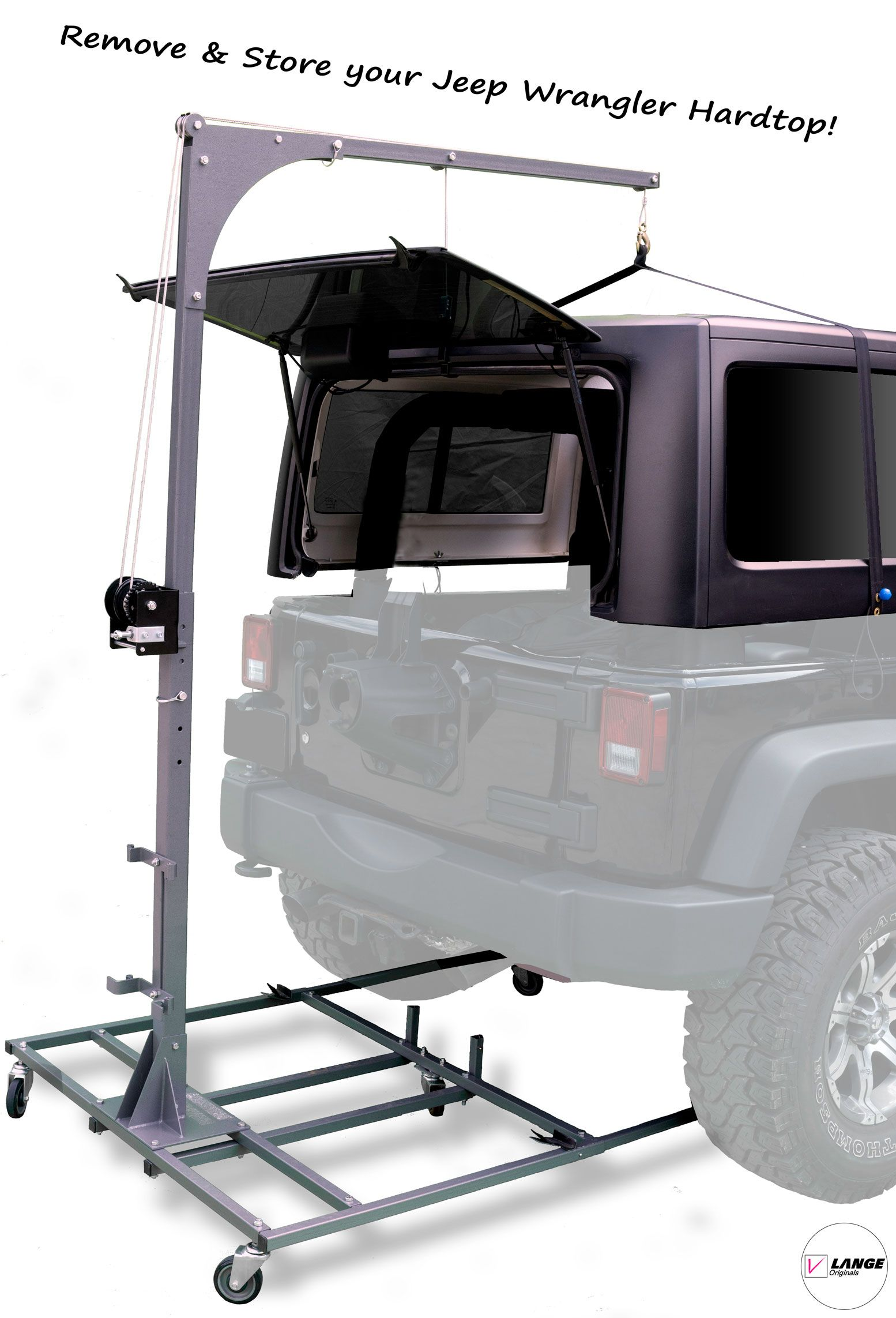 Hoist A Cart Base For Jk 2007 2018 Jeep Wrangler Jeep Tops