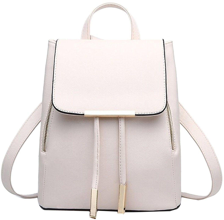 Coofit Damen Rucksack Umhangetasche Schulrucksacke Leder Reise Daypacks Tasche Schulranzen Amazon De Bekleidung Rucksack Frauen Rucksack Mode Rucksack
