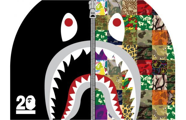 A Bathing Ape Releases the NW20 Shark Hoodie in Every Single Camo it Has Ever Done