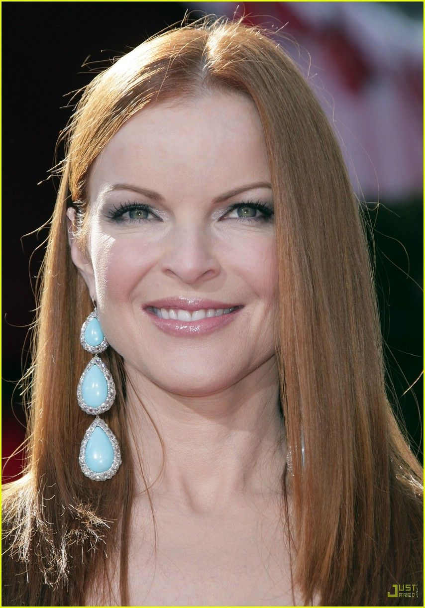 Pics For Marcia Cross Natural Hair Color Places To Visit