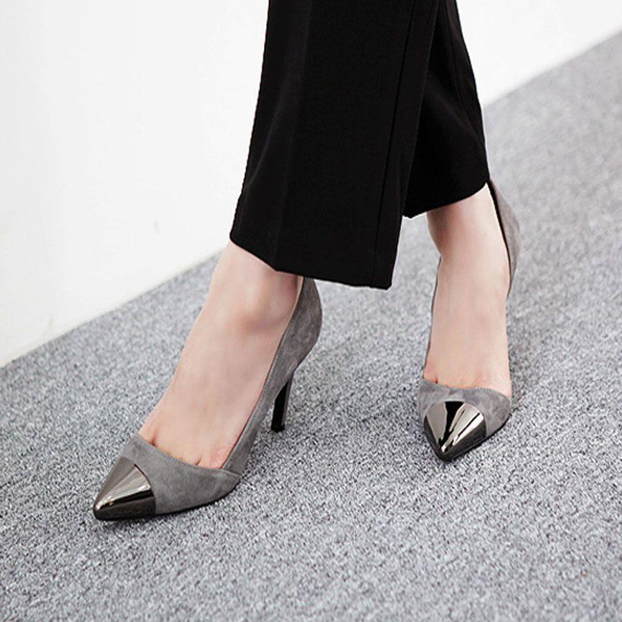 รองเท้าส้นสูงแฟชั่น ยี่ห้อ Pangma มีให้เลือก 3 สี