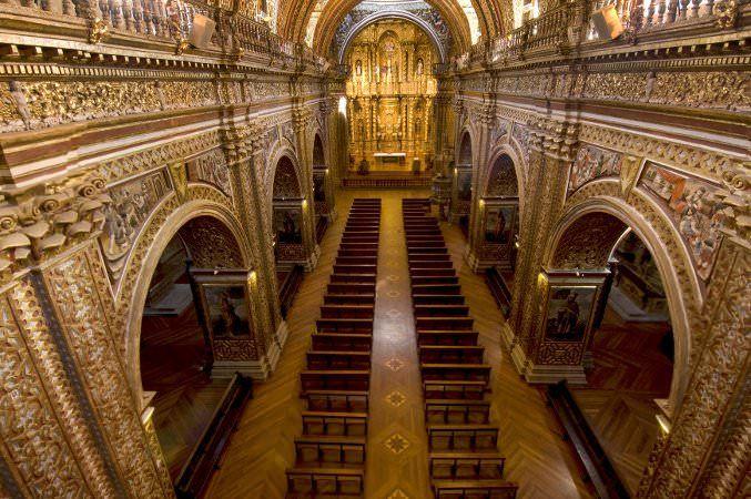 La Compañía de Jesús, Quito, Ecuador