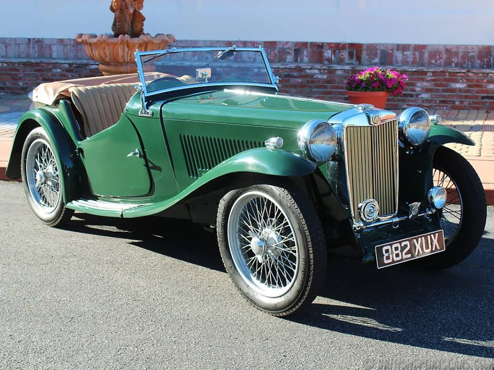 1938 MG TA British sports cars, Sports cars, Cars
