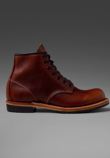 """RED WING SHOES Beckman 6"""" Classic Round in Cigar Featherstone"""