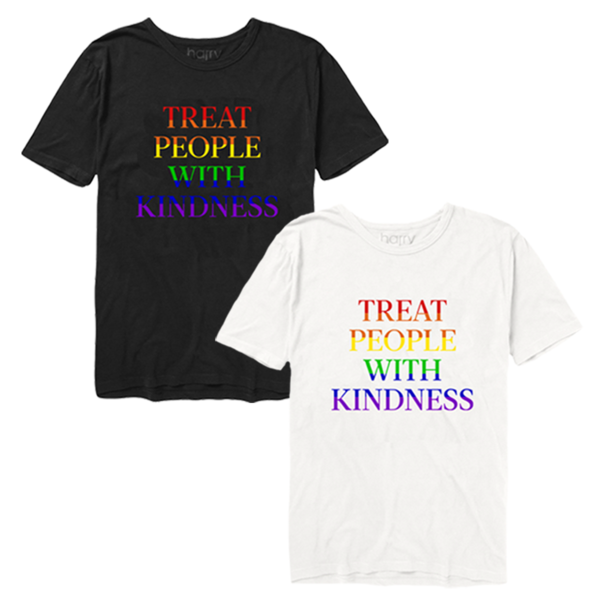 Harry Styles Treat People With Kindness printed on a 100% cotton 0f1deb3bdea5