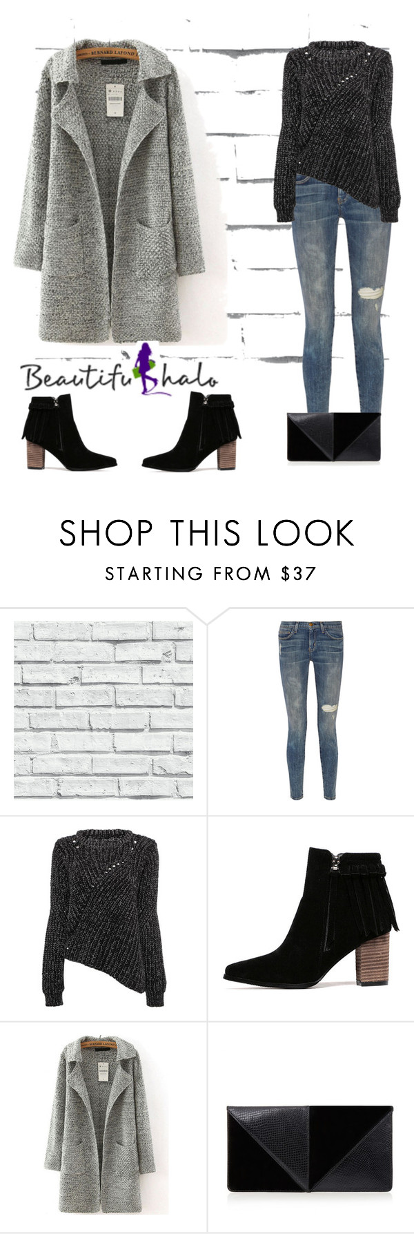 """NYC"" by janeellie ❤ liked on Polyvore featuring Current/Elliott, UN United Nude, women's clothing, women's fashion, women, female, woman, misses and juniors"
