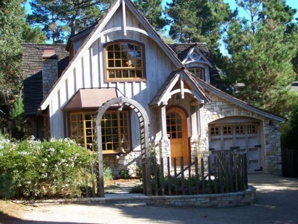 Cottage in Carmel, CA 1960 and many times after in 2020