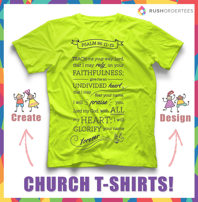 Church custom t-shirt design idea\'s! Create a church t-shirt for ...