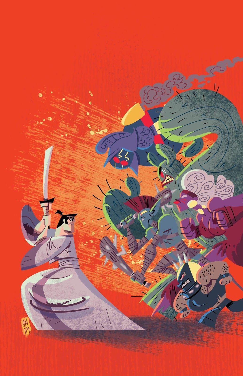 Samurai Jack Samurai jack, Samurai, Comic books art