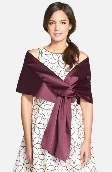 db7e17fc187 Adrianna Papell Satin Wrap   Nordstrom   Women's Fashion   Pinterest ...