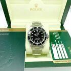 Rolex Black Submariner No Date Stainless Steel Watch Ref 14060 Engraved Box #Watche #stainlesssteelrolex