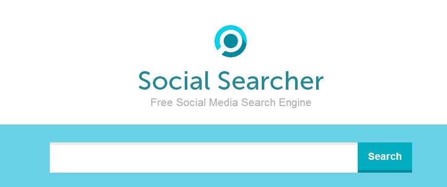 Social Searcher - social media search engine | Social Tools | Social