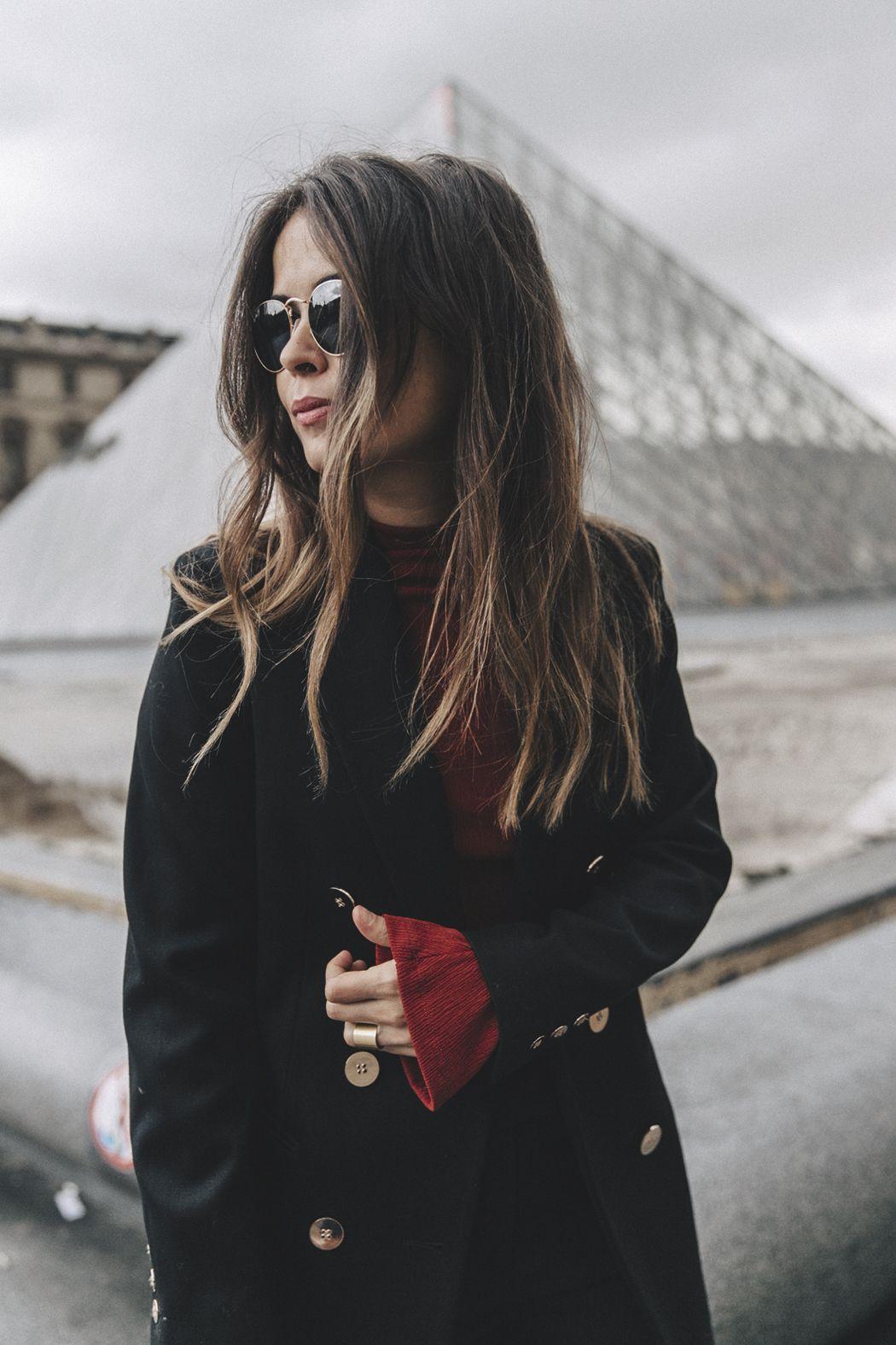 black blazer | Collage Vintage