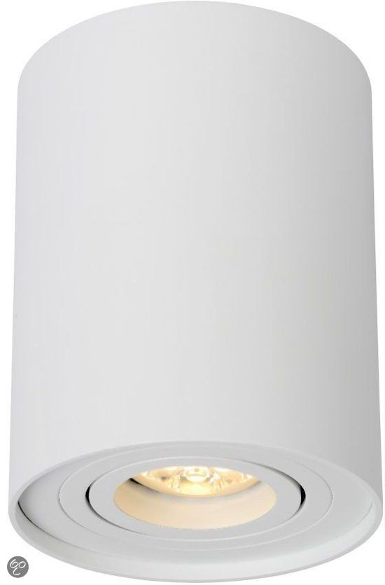 Lucide Tube Plafondspot O 9 6 Cm 1xgu10 Wit Verlichting Designverlichting Lampen