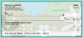 Crazy Daisy is a wild and colorful new design featuring bursts of daisy patterns that are sure to brighten up your day.  Add this happy design to your checkbook today!