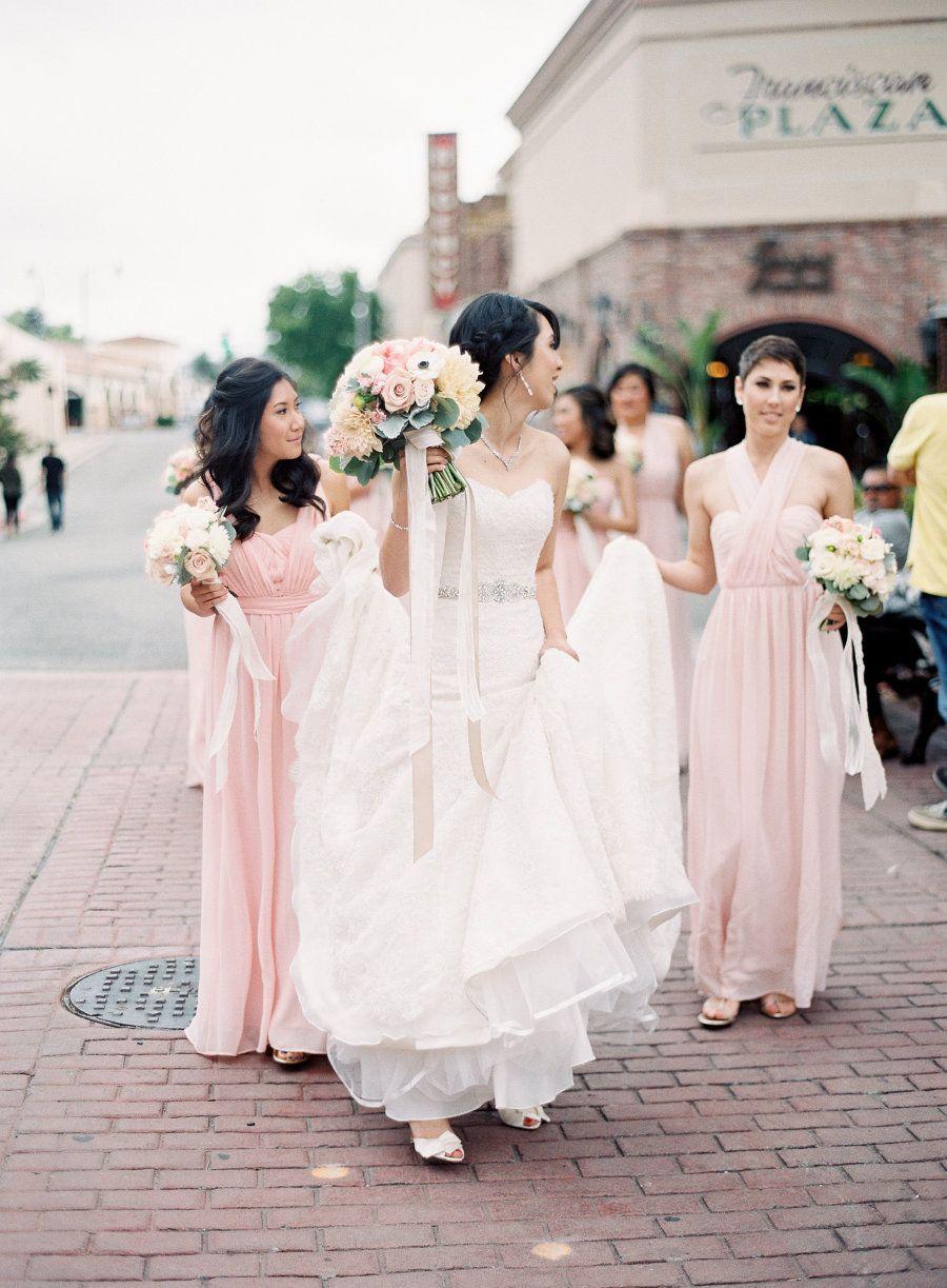 Classic garden california wedding from sposto photography dress