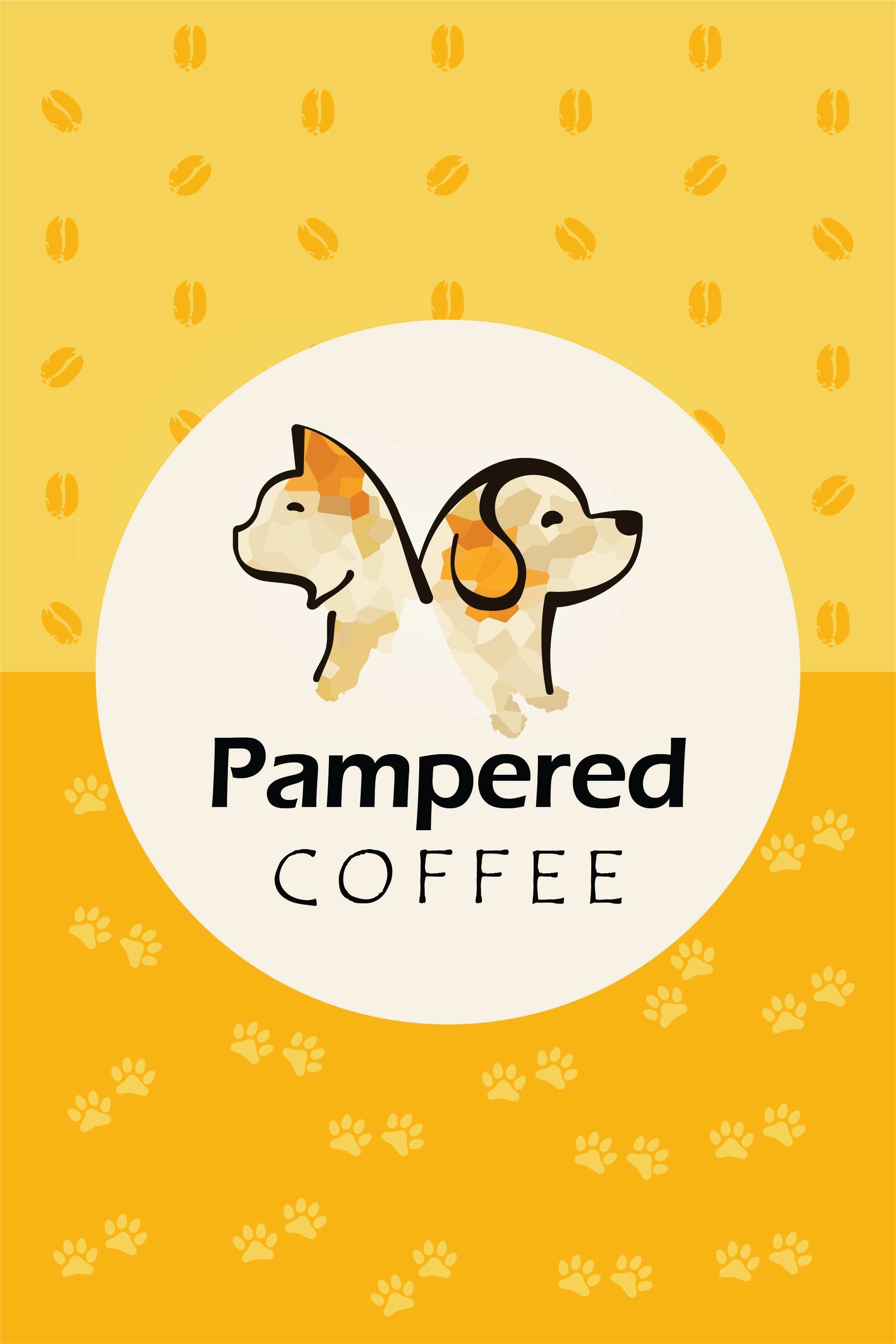 Premium Coffee That Supports Pets In 2020 Support Animal Dog Drawing Supportive