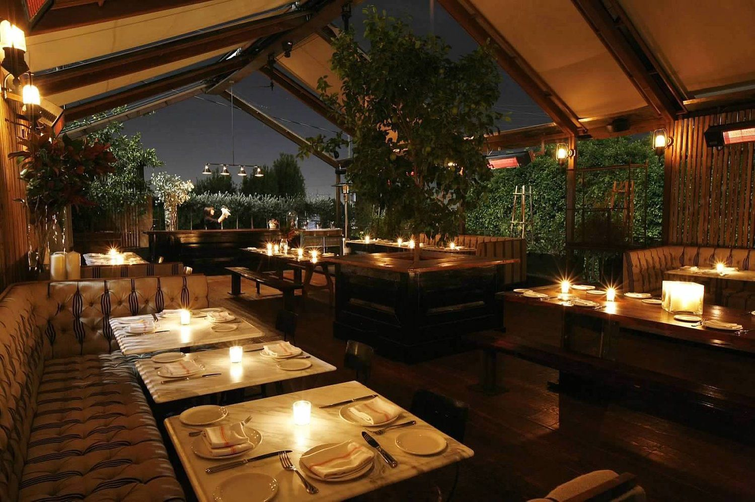 The Eveleigh West Hollywood 10 Best Restaurants In Los Angeles For Outdoor Dining
