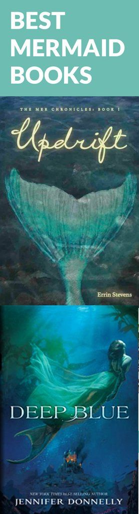 The Best Mermaid Books! So many good reads and sagas all about sirens, mermaids, and quests under the sea