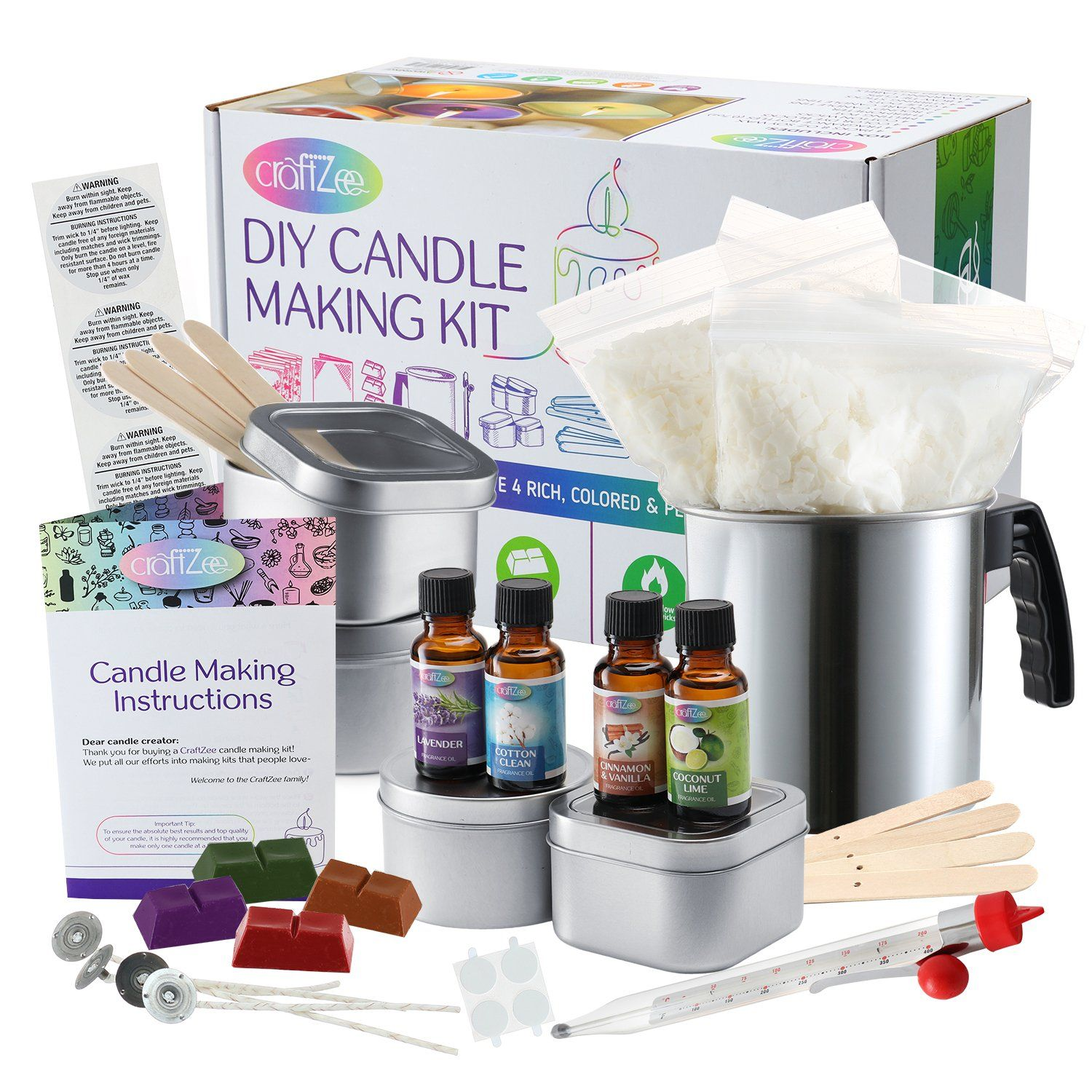DIY Candle & Soap Making Craft KITS in 2020 Candle