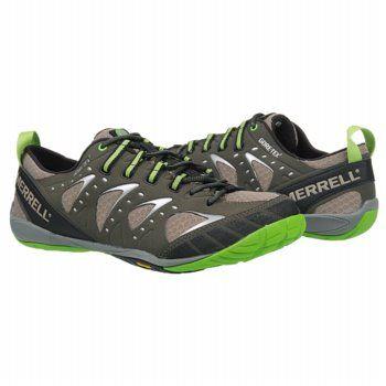 MERRELL Embark Glove Gore-Tex Shoes (Deep Olive/Kryptonit) - Men's Shoes - 10.0 M