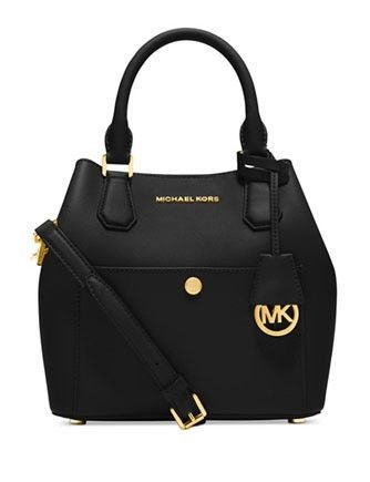 Michael Michael Kors Greenwich Medium Saffiano Grab Bag