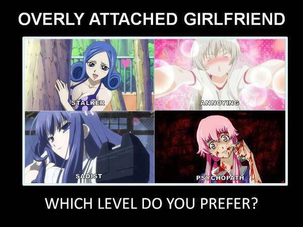 Funny I Love You Meme For Her : I d say juvia could count as all lol havd you seen thenlooks