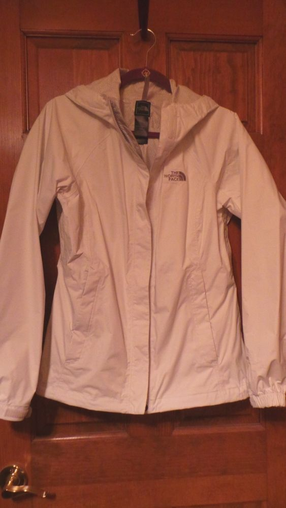 80eaf493e2 The North Face Women s Venture Jacket M Medium White HyVent Unlined Rain  Shell  thenorthface