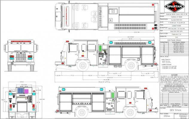 Fire Truck Diagram  Wiring Diagram | camion madera