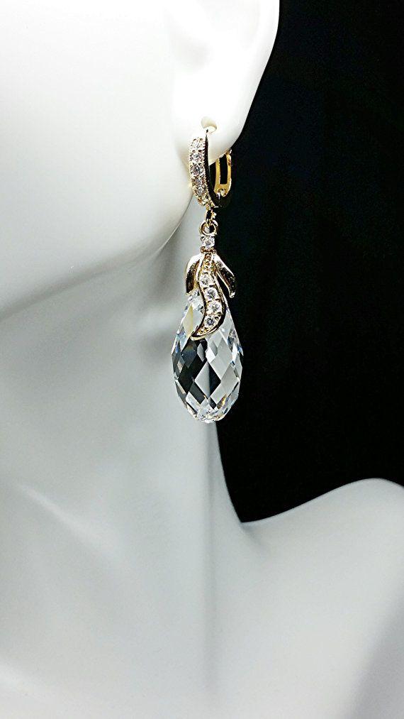 Fire And Ice Swarovski Earrings By Ksjeweler On Etsy 47 99