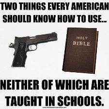 Two things every american should know how to use