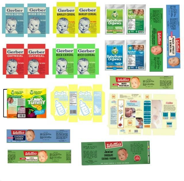 Baby Food Printables Printies Mini Nursery