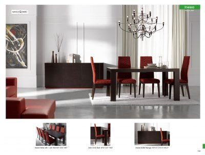 Dining Room Furniture Modern Dining Sets Inessa Table with Ada