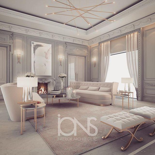 Scret Home House Luxury: Lounge Design • Private Palace • Abu Dhabi •